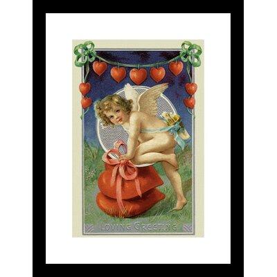 Buyenlarge Loving Greeting Framed Framed Vintage Advertisement