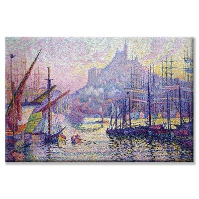 'Notre-Dame de la Garde (La BonneMere) and Marseilles' Painting Print on Wrapped Canvas by ...