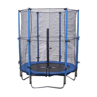 4.5' Round Trampoline Combo Product Photo