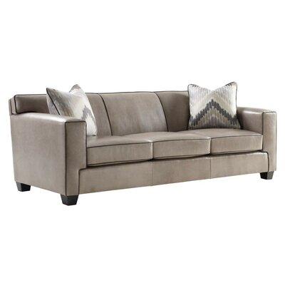 Boardwalk Leather Sofa by Leathercraft