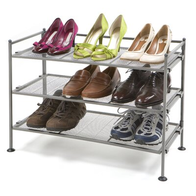 Seville Classics Mesh Shoe Rack