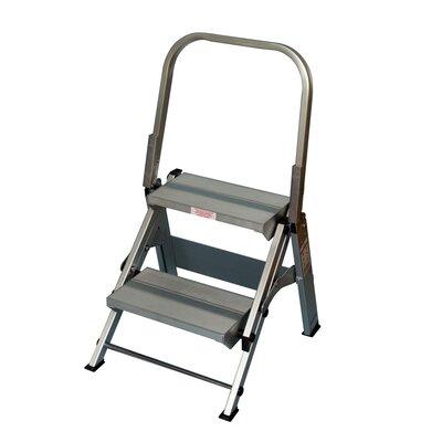 Safety Step Stools 2-step Aluminum Folding Safety