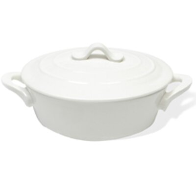 White Basics 0.38-qt. Oval Casserole by Maxwell & Williams