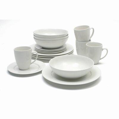 Maxwell & Williams White Basics Studio 16 Piece Dinnerware Set