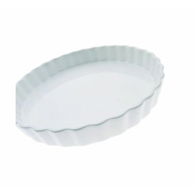 White Basics Quiche Dish by Maxwell & Williams