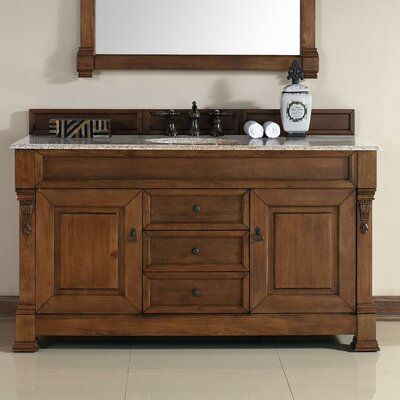 "Brookfield 60"" Single Bathroom Vanity Set Product Photo"