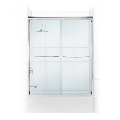 "Paragon 60"" x 58"" Bypass Shower Enclosure Product Photo"