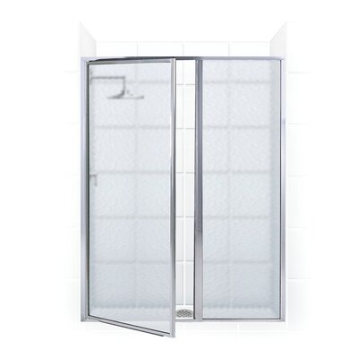 Legend Pivot Framed Swing Shower Door and Inline Panel Product Photo