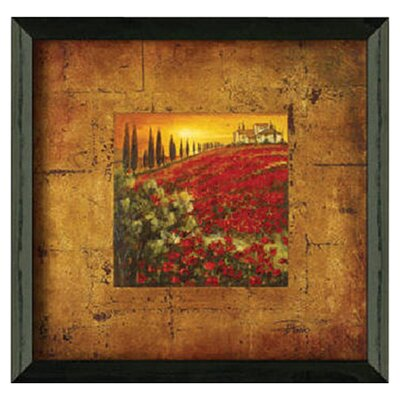 Red Poppies I by Patricia Pinto Framed Painting Print by Timeless Frames