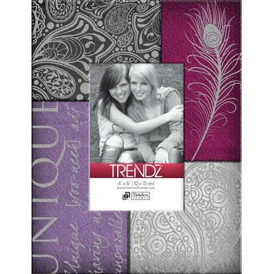 Trendz Unique Decoupage Tabletop Photo Frame by Timeless Frames