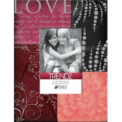 Trendz Love Decoupage Tabletop Photo Frame by Timeless Frames
