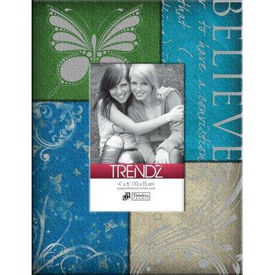 Trendz Believe Decoupage Tabletop Photo Frame by Timeless Frames