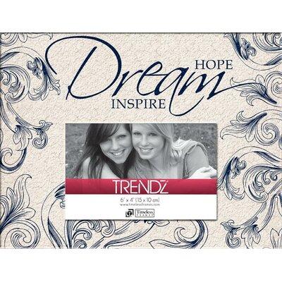 Trendz Hope Dream Inspire Decoupage Tabletop Photo Frame by Timeless Frames