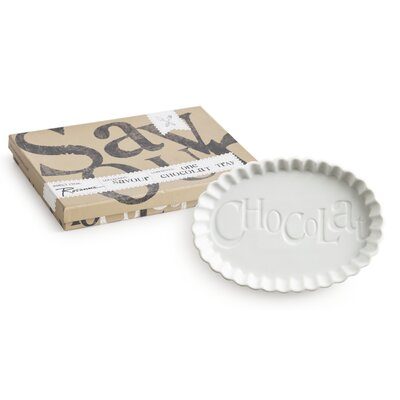 Rosanna Savour Chocolate Oval Serving Tray
