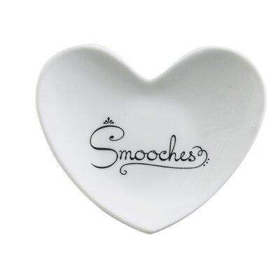 Cross My Heart Smooches Heart Dish by Rosanna