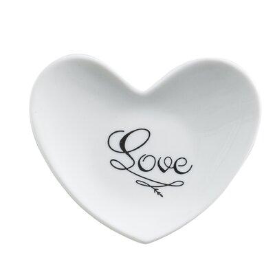 Cross My Heart Love Heart Dish by Rosanna