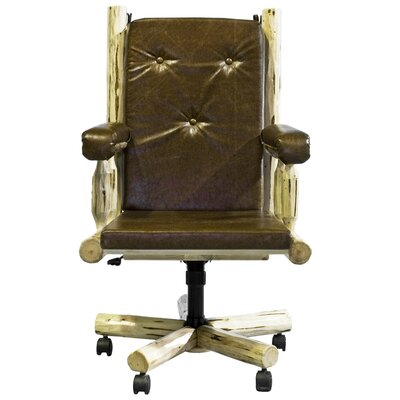 Upholstered Executive Chair by Montana Woodworks®