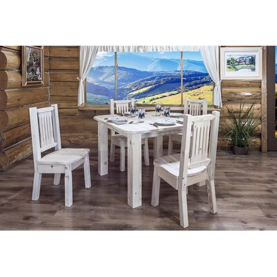 Homestead 4 Post Square Dining Table by Montana Woodworks®