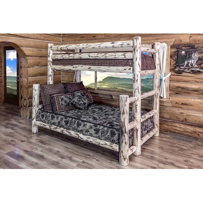 Montana Twin over Full Bunk Bed with Built-In Ladder by Montana Woodworks®