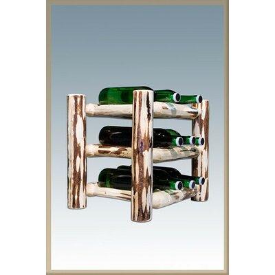 Montana Woodworks® Montana 9 Bottle Tabletop Wine Rack
