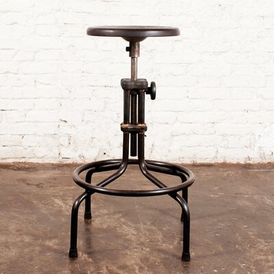 V19C Adjustable Height Swivel Bar Stool by District Eight Design