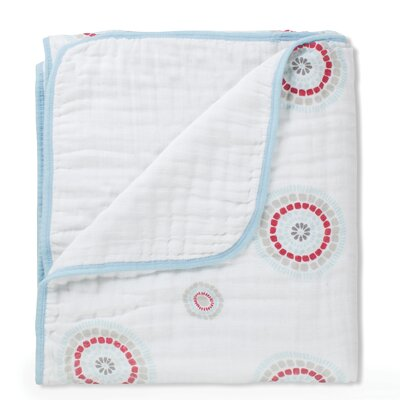 Liam the Brave Medallion Dream Cotton Blanket by aden + anais