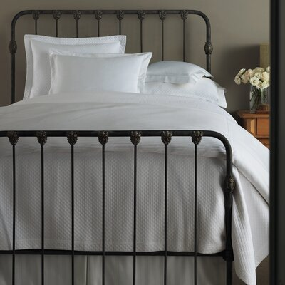 Oxford Tailored Hem Coverlet by Peacock Alley