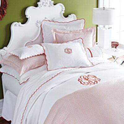 Scalloped Pique Bedding Collection by Peacock Alley