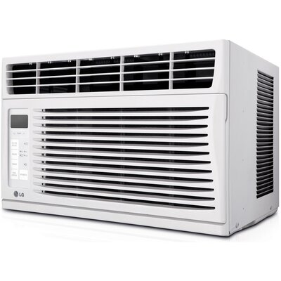 6,000 BTU Window-Mounted Air Conditioner with Remote Product Photo
