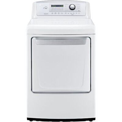 7.3 Cu. Ft. Electric Dryer with Sensor Dry Technology by LG