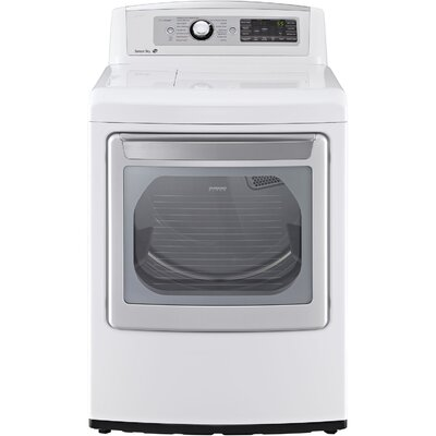 7.3 Cu. Ft. High Efficiency Electric Dryer with SteamSanitary by LG