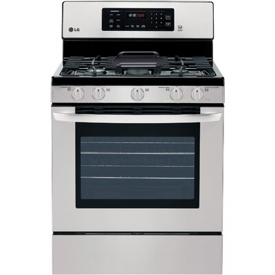 5.4 Cu. Ft. Gas Convection Range Product Photo