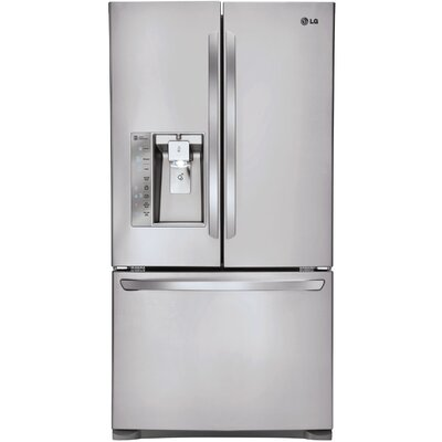 15.8 cu. ft. French Door Refrigerator in Stainless Steel Product Photo