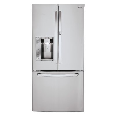 16.4 cu. ft. French Door Refrigerator in Stainless steel with Door-in-Door Product Photo