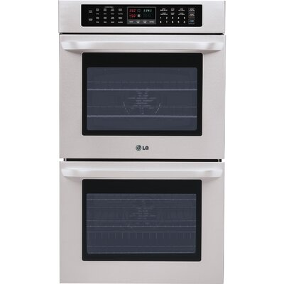 "29.75"" Electric Double Wall Oven in Stainless Steel Product Photo"