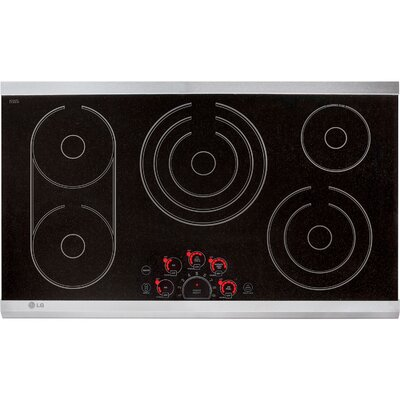 "36.69"" Electric Induction Cooktop with 5 Burners Product Photo"