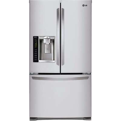 24.7 cu. ft. French Door Refrigerator with Dual Ice Makers by LG