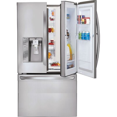 29 cu. ft. French Door Refrigerator in Stainless Steel with Door-in-Door Product Photo