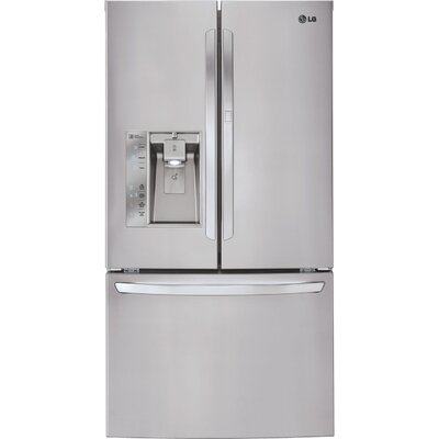 20.7 cu. ft. French Door Refrigerator in Stainless Steel with Door-in-Door Product Photo