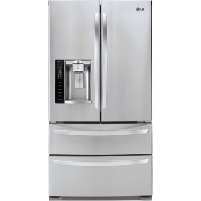 27 cu. ft. French Door Refrigerator in Stainless Steel Product Photo