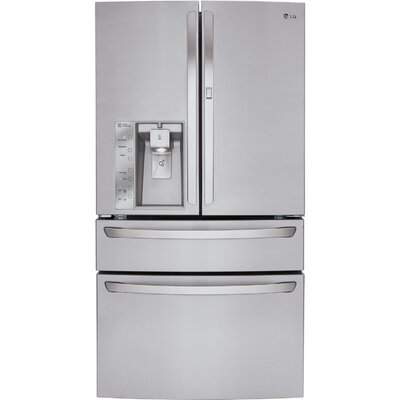 17.5 cu. ft. French Door Refrigerator in Stainless Steel with CustomChill™ drawer Product Photo