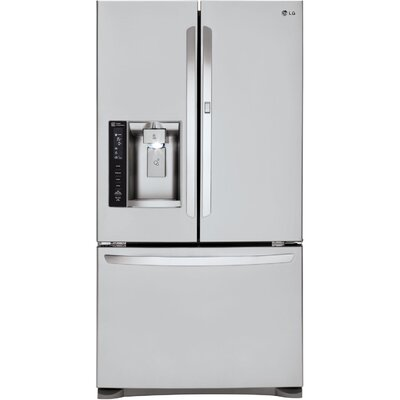 16.2 cu. ft. French Door Refrigerator in Stainless Steel with Door-in-Door Product Photo