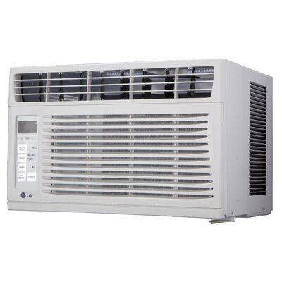 6000 BTU Window-Mounted Air Conditioner with Remote Product Photo