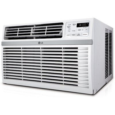 10,000 BTU Window-Mounted Air Conditioner with Remote Product Photo