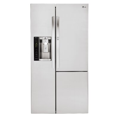 16.9 cu. ft. Side-by-Side Refrigerator in Stainless Steel with Door-In-Door Product Photo