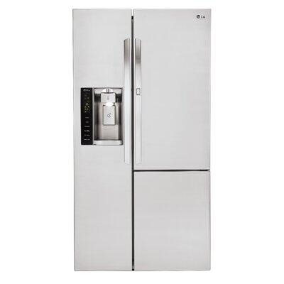 26 cu. ft. Side-by-Side Refrigerator with Door-In-Door by LG