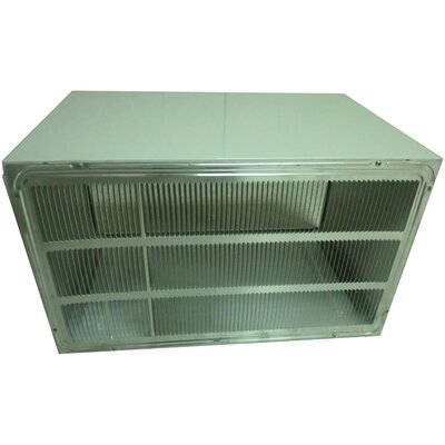 """LG 26"""" Wall Sleeve and Stamped Aluminum Rear Grille for Through-the-Wall Air Conditioner"""