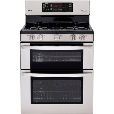 6.1 Cu. Ft. Gas Convection Range in Stainless Steel Product Photo