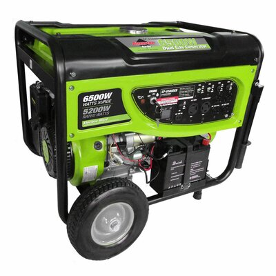 7,500 Watt Dual Fuel Generator with Electric Start by Smarter Tools
