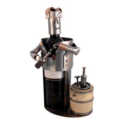 Sommelier 1 BottleTabletop Wine Rack by H & K SCULPTURES